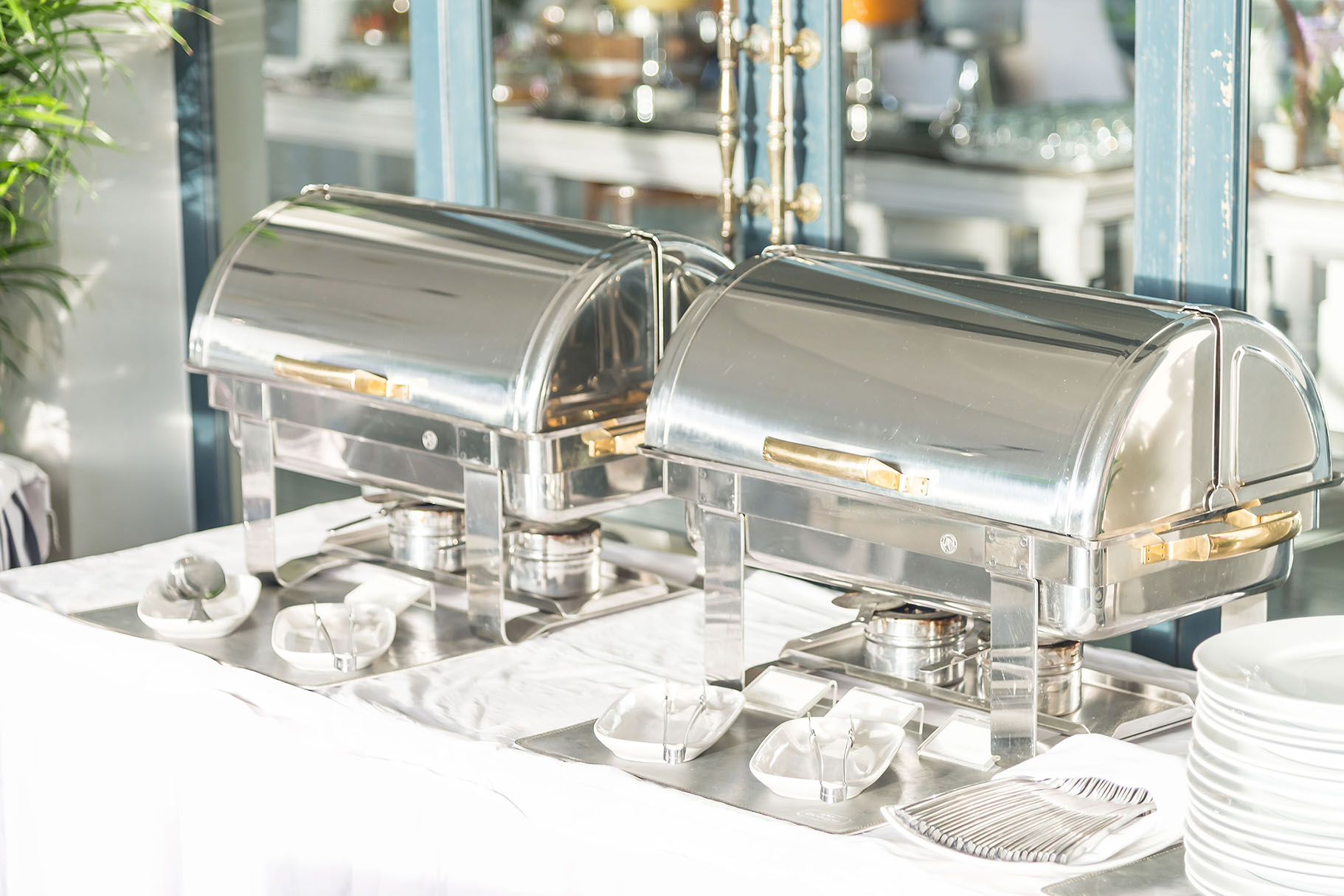 Stainless Steel Chafers