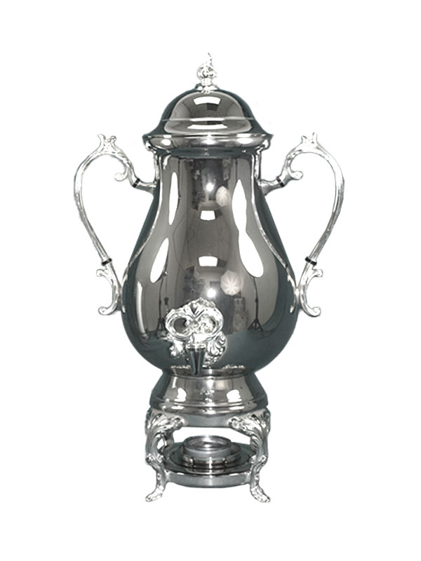 50 Cup Silver Coffee Urn Beverage Servers