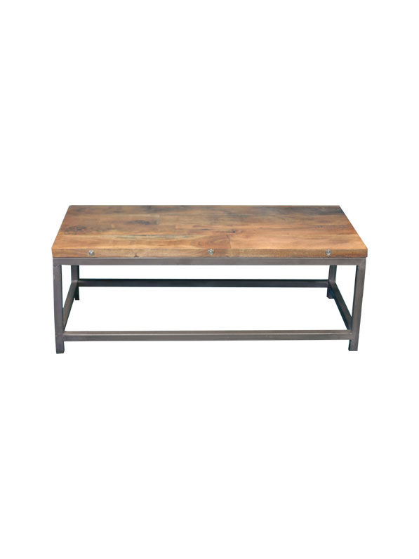Heavy But Good Looking Coffee Table. Handles Even The Occasional Guest  Bottom.