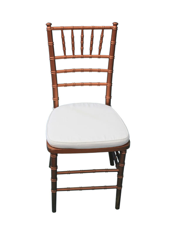 Copper Chiavari Chair W /Cushion