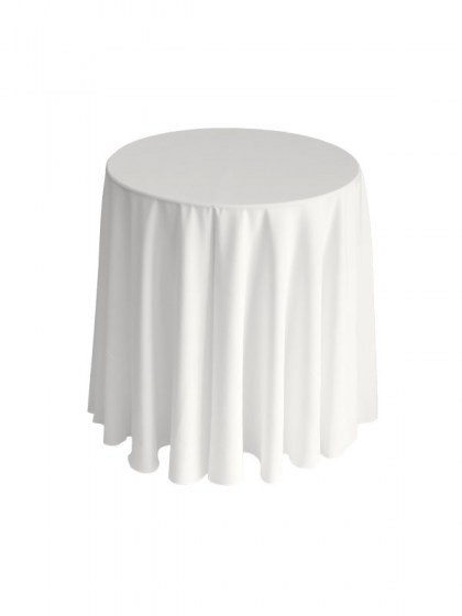 Round Table With Tablecloth.Tablecloths Napkins Are The Event Necessity For Comfortable Dining