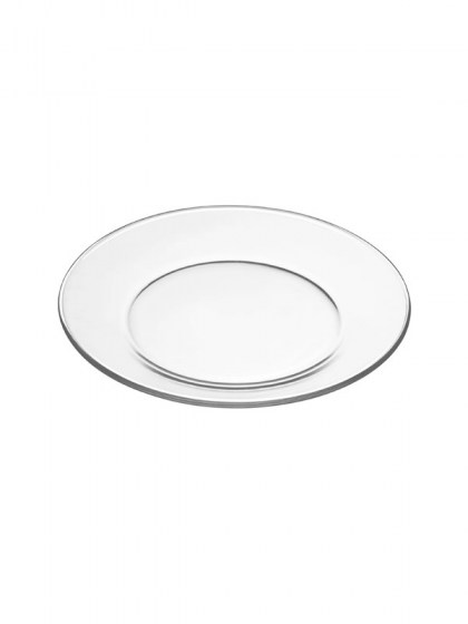 Clear Glass Dinner Plate 9 in  sc 1 st  Abbey Party Rentals & Dinnerware for Unique Placement Settings from modern to traditional