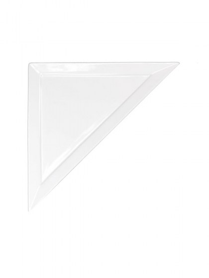 Tavola Triangle Plate 14.5 in  sc 1 st  Abbey Party Rentals & Dinnerware for Unique Placement Settings from modern to traditional