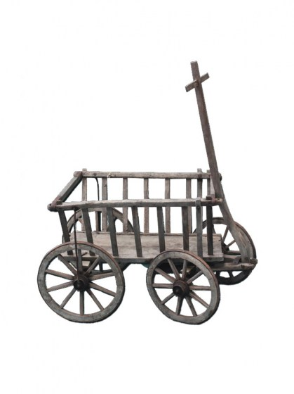 vintage_lattice_goat_cart